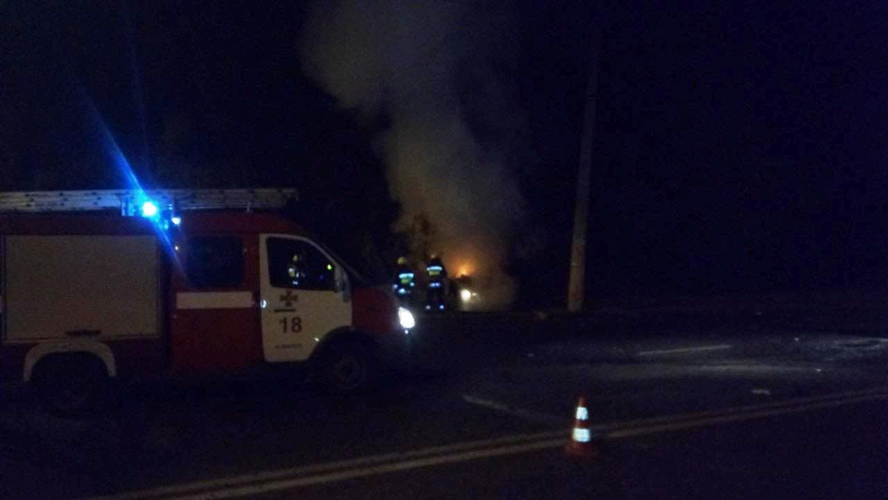 В Днепре во время ДТП погиб один человек, трое получили травмы