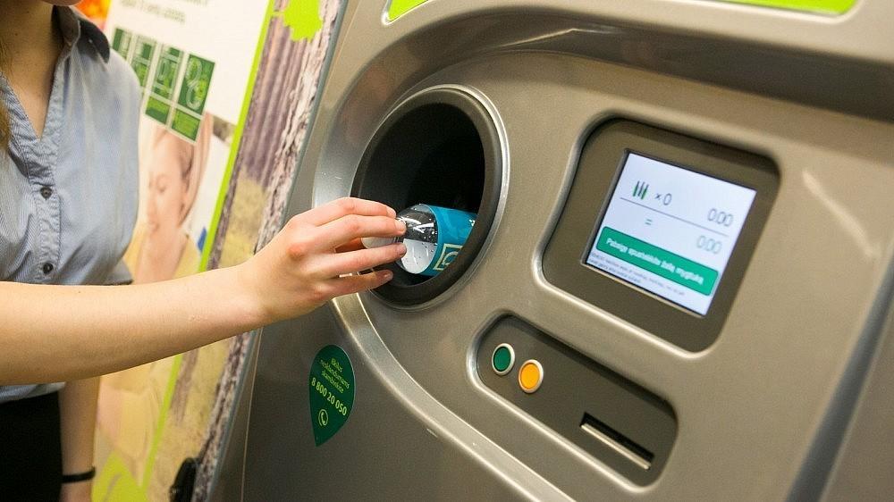 В общественных местах могут появиться автоматы для сбора бутылок