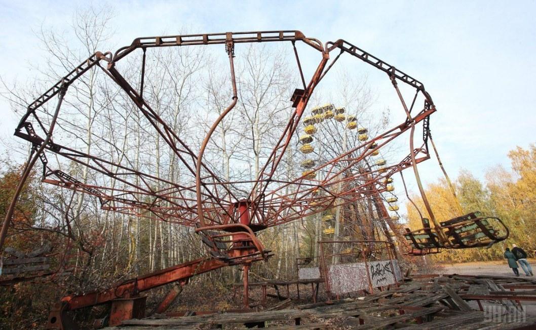 В зоне отчуждения презентовали путеводитель «Чернобыльская зона отчуждения»