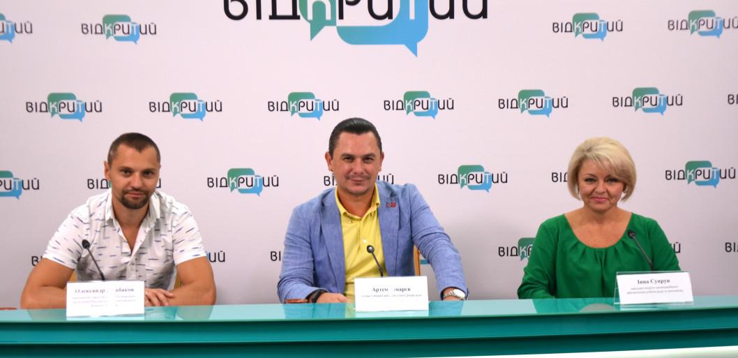 На День міста Дніпра від голови Соборної районної ради розігруватимуть телевізор