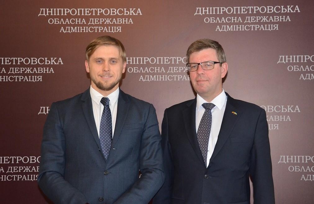 В Днепропетровской области к строительству дорог планируют привлечь литовские компании