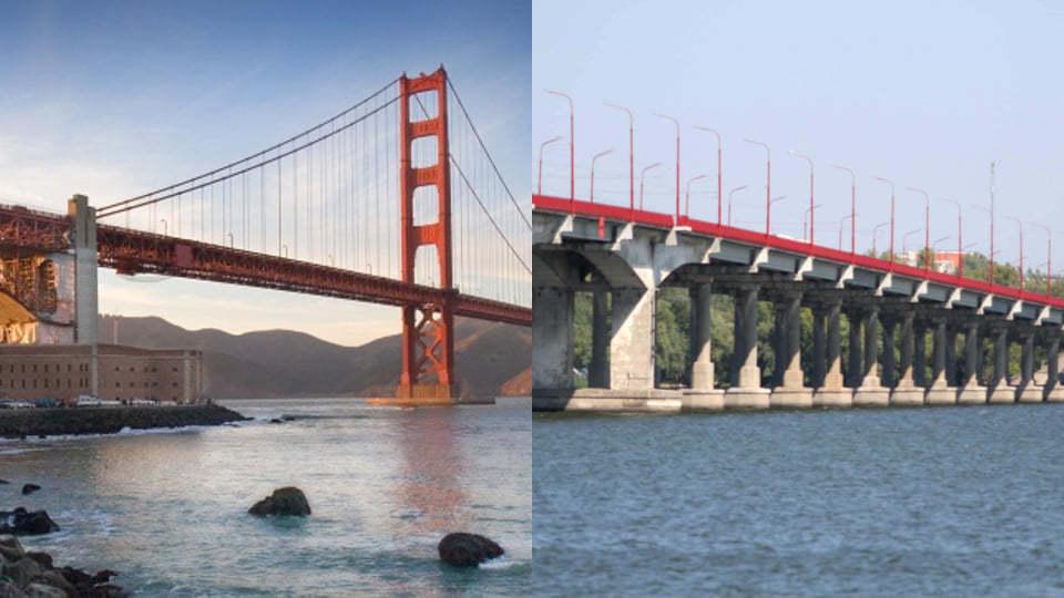 Главный архитектор Днепра сравнил Новый мост с «Золотыми воротами» в Сан-Франциско
