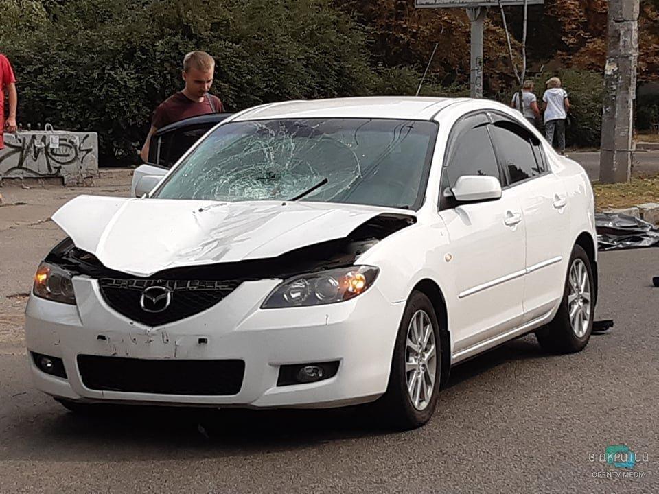 В Днепре на Гагарина водитель сбил пешехода насмерть
