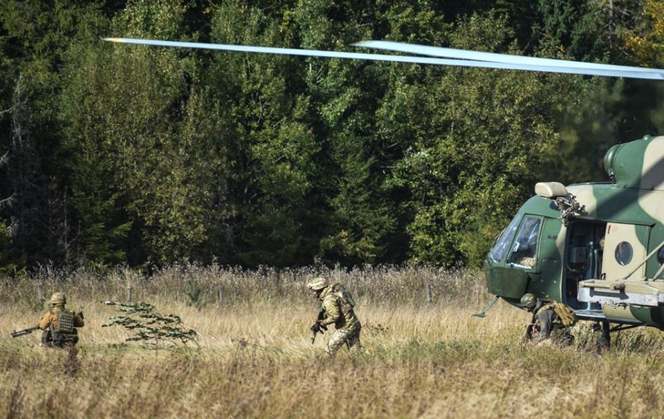 В Украине стартовали военные учения «Казацкая воля»