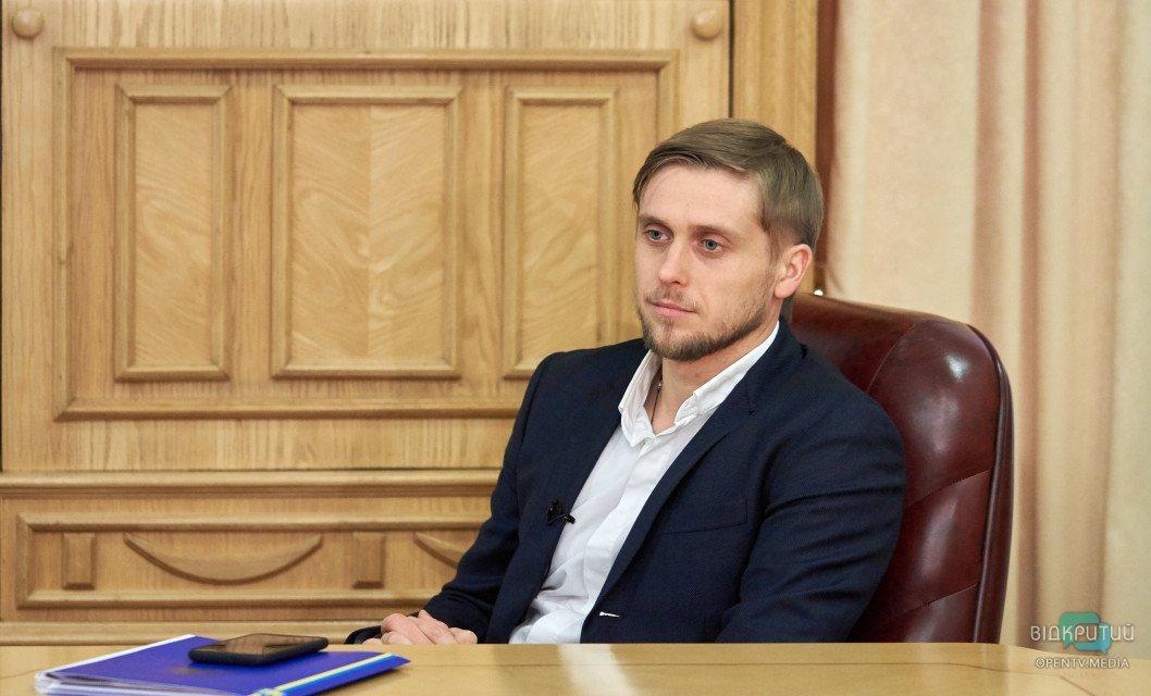 «Днепр мне близок по духу»: губернатор Александр Бондаренко дал первое интервью
