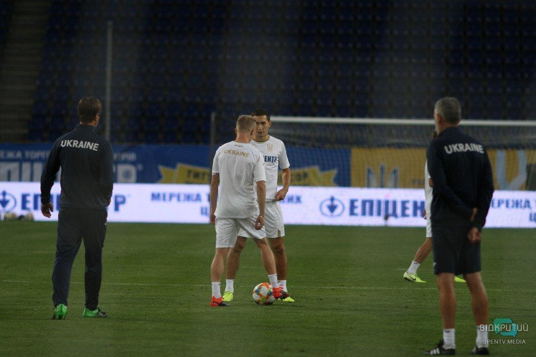 Футболисты Национальной сборной провели открытую тренировку перед матчем Украина-Нигерия