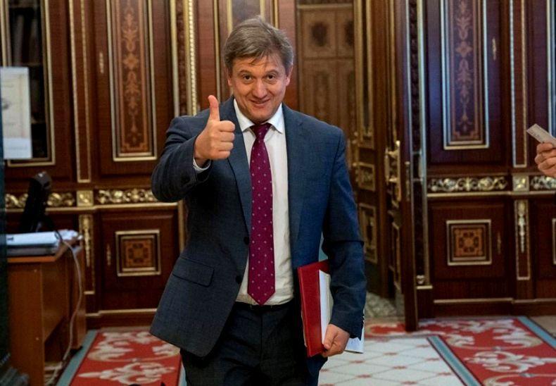 Секретарь СНБО Данилюк уходит в отставку