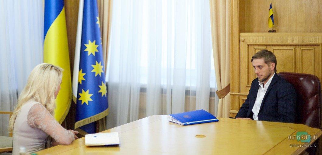 Новый губернатор Днепропетровской области дал первое интервью