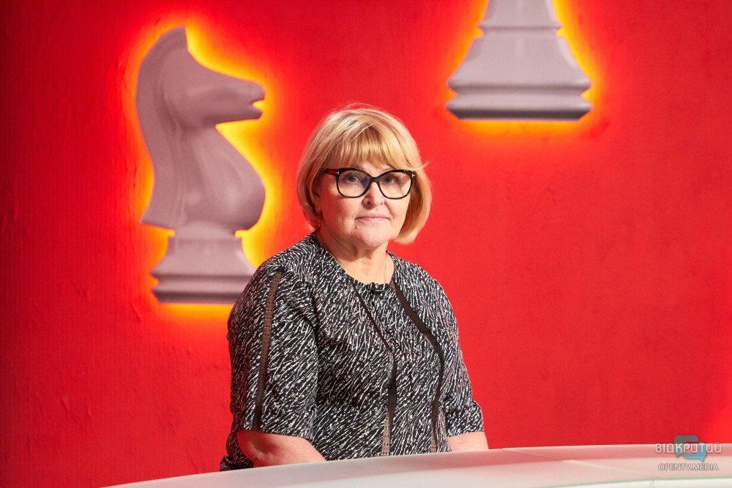 Людмила Падалко про минуле і сучасне Дніпро — програма «Шах і мат»