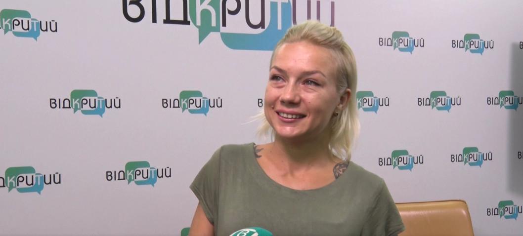 Волонтерка Олександра Каладжиєва привітала дніпрян з Днем міста