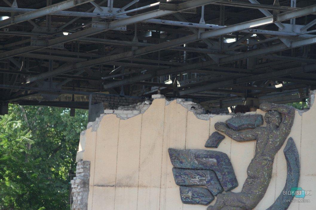 Главный архитектор Днепра предложил сделать 3D-модель мозаикииз «летнего театра»