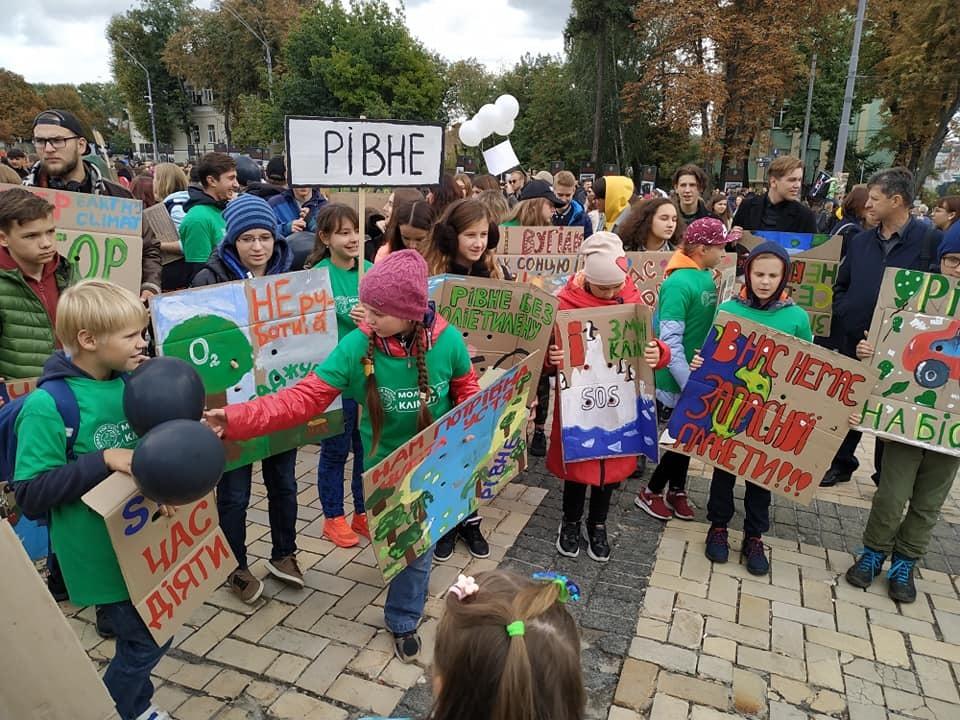 marsh klimat aktivisty