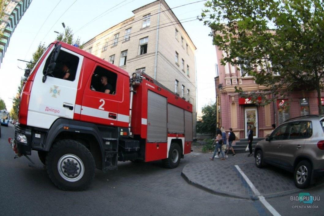 Опять пожары: на Днепропетровщине горело хозяйственное сооружение (ФОТО)
