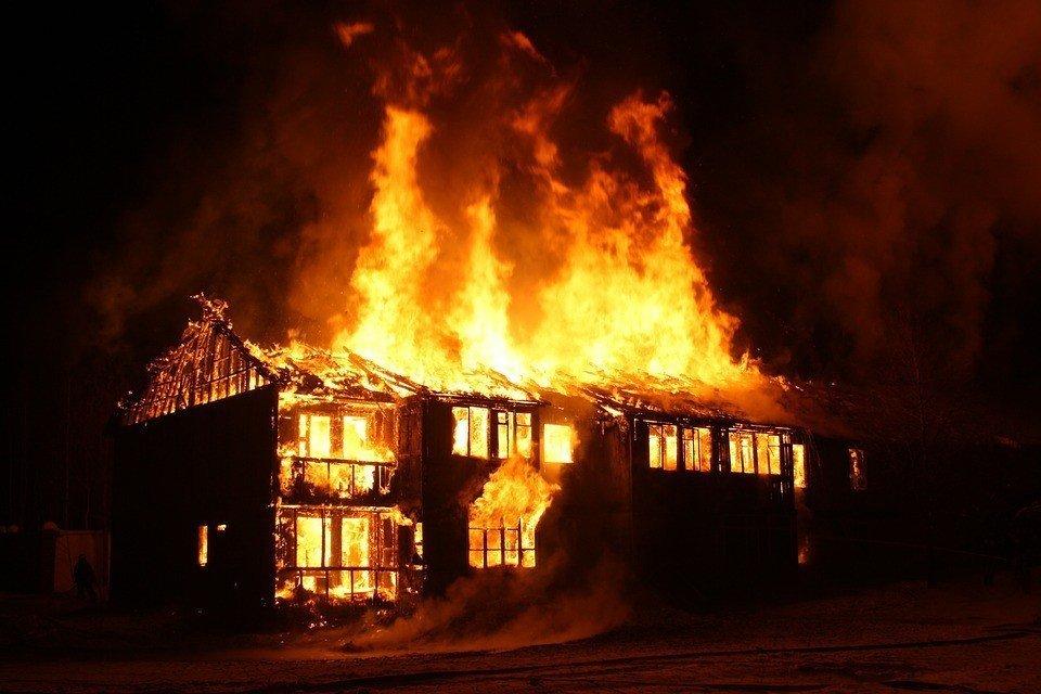 В Самарском районе Днепра во время пожара погиб мужчина