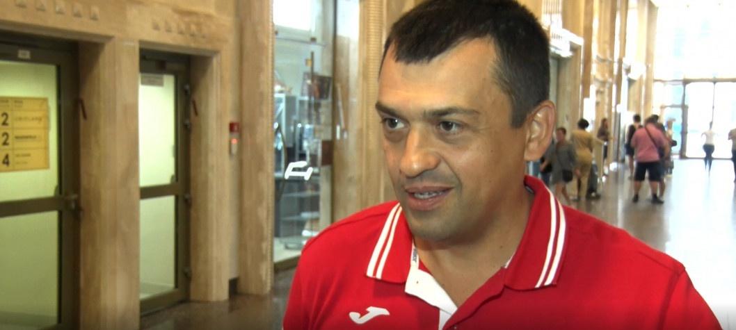 Спортивний експерт Сергій Теодорович привітав Дніпро з Днем міста
