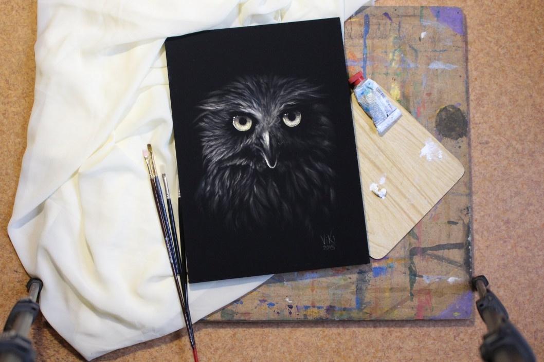 «Рисую в голове портрет»: в Кривом Роге с выставки украли картины