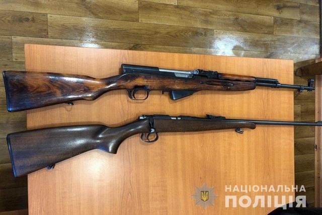 В Днепропетровской области продолжается месячник добровольной сдачи оружия