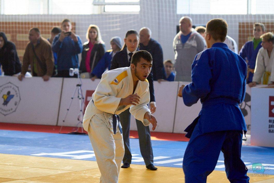 В Днепре проходит Всеукраинский турнир по дзюдо