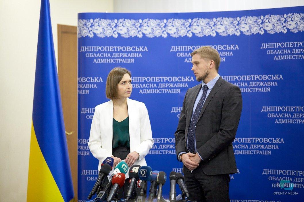 Министр Анна Новосад рассказала о развитии опорных школ и профтехобразования в Днепропетровской области