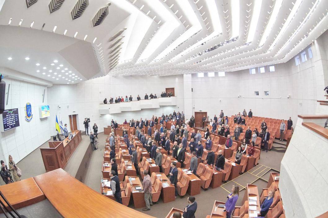 В Днепре депутаты разрешили корпорации Roshen установить на центральной площади каток