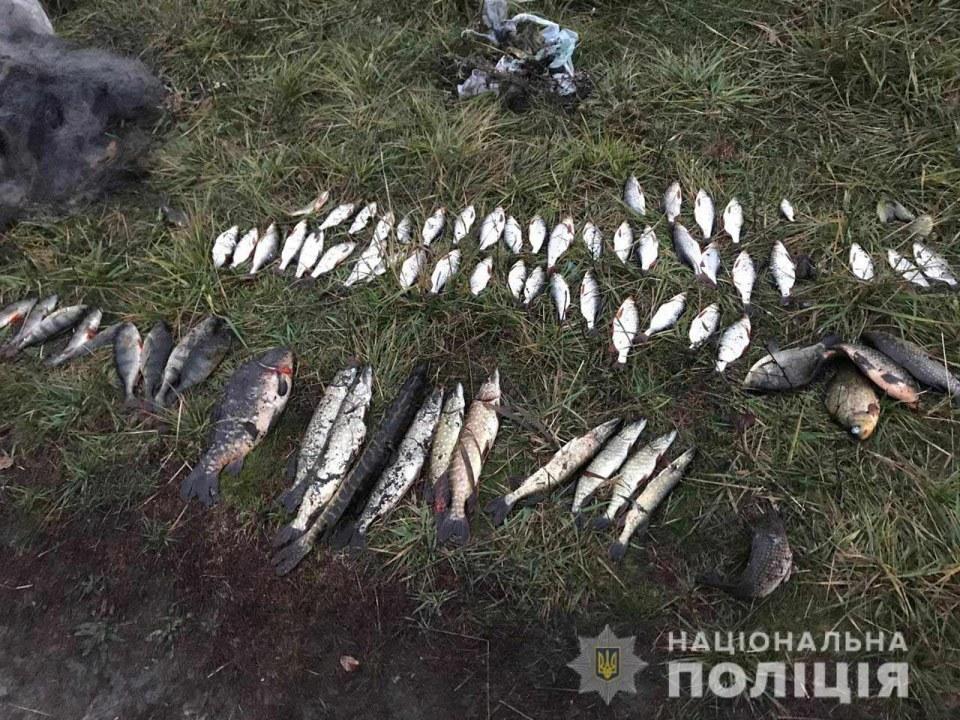 В Павлоградском районе полицейские задержали браконьера с уловом на 7,5 тысячи гривен