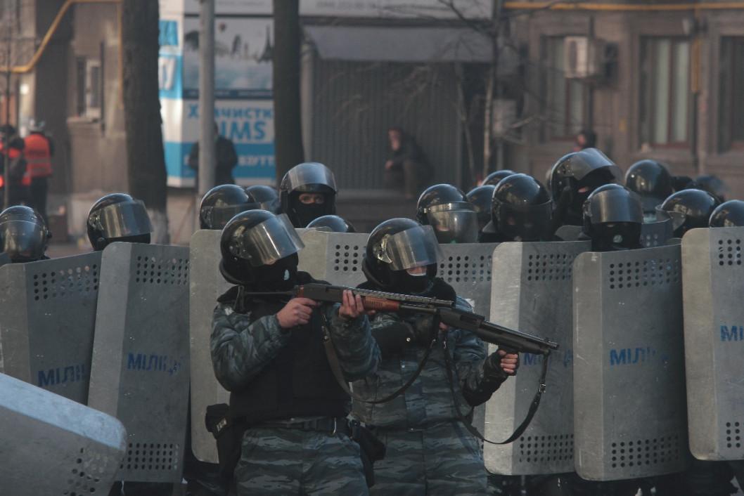 В суде допросили еще одного бойца днепровского батальона «Беркут»
