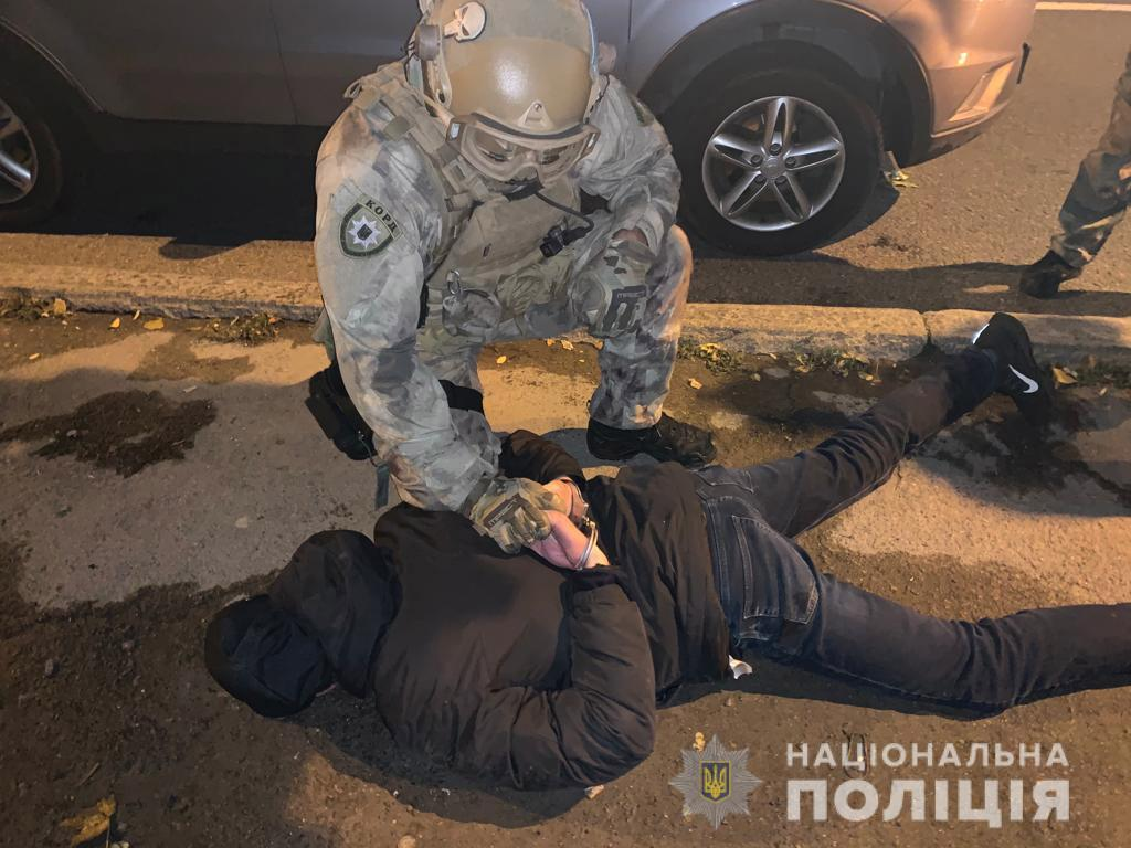 В Днепре полицейский спецназ задержал преступную группировку