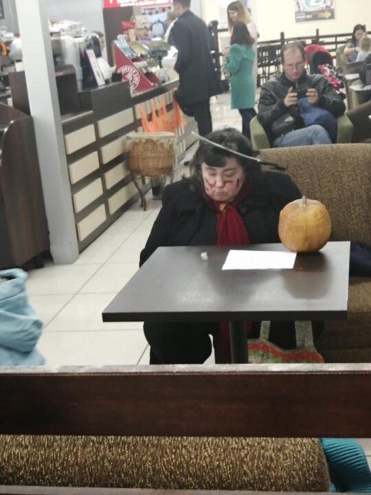 Пила в голове и чумной доктор: ТОП-10 образов жителей Днепра на Хэллоуин