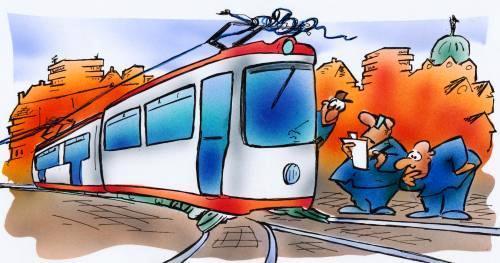 В Днепре трамваи изменят график движения: узнай причину