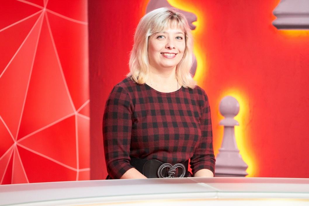 Юлія Зюлева розказала, що сучасний читач знайде у  Дніпропетровській обласній універсальній науковій бібліотеці — програма «Шах і мат»