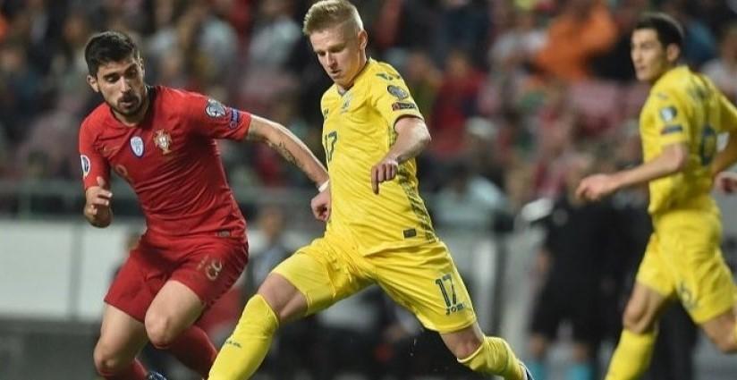 Отбор на Евро-2020: когда игде смотреть футбольный матч Украина-Португалия