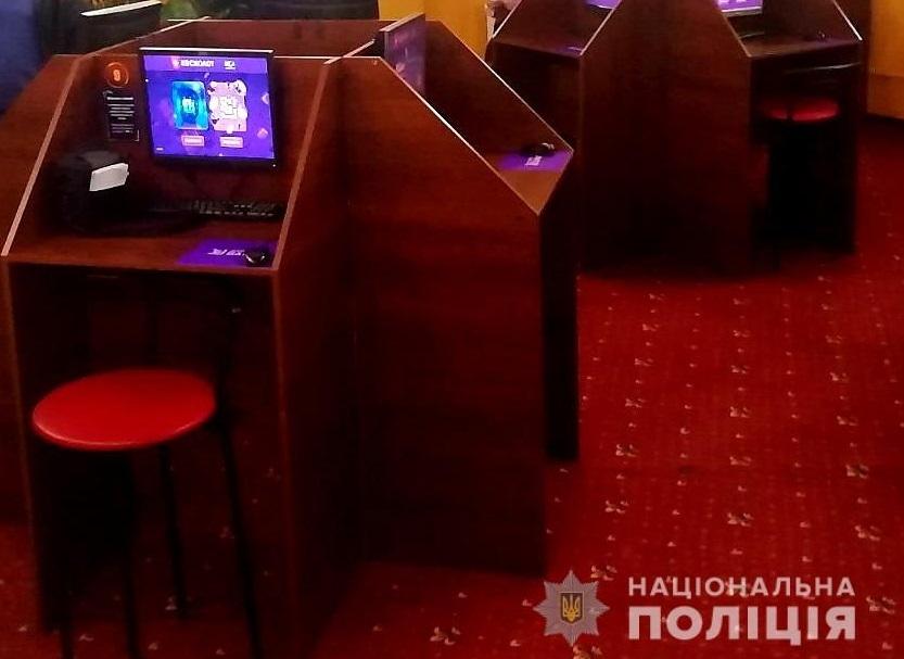 В Каменском правоохранители прекратили деятельность двух игровых залов