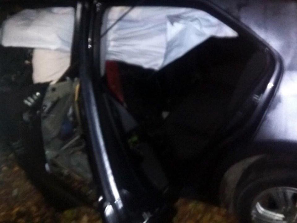 На автодороге во время ДТП погиб один человек, трое получили травмы