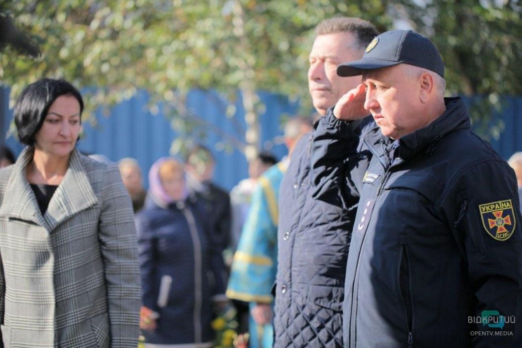 В Днепре почтили память погибших во время взрыва дома по улице Мандрыковская