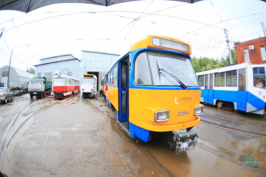 В Днепре сегодня и завтра изменится движение трамваев