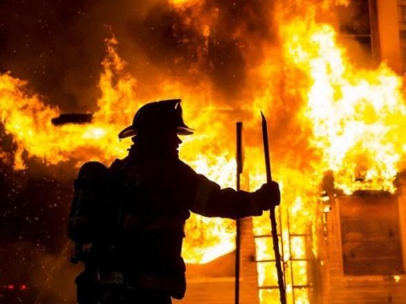 В Днепре на Навигационной был пожар, обнаружен труп мужчины