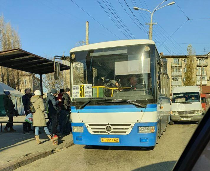 В Днепре с Левобережного-3 запустили новые большие автобусы (ФОТО)