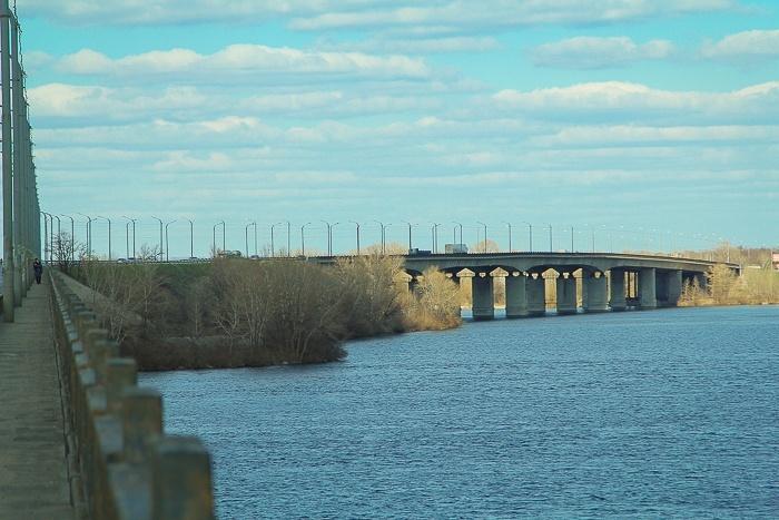Кайдакский мост Днепр