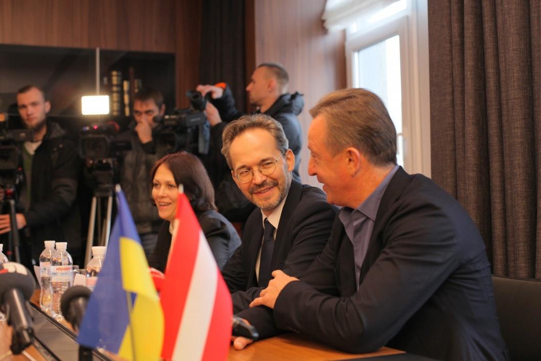 Посол Австрии в Днепре