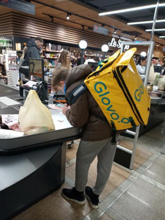 Супермаркет в котором я покупал продукты