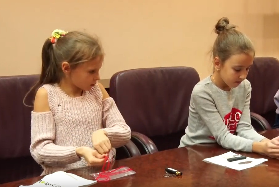 ВІДЕО: У Дніпрі пройшов майстер-клас для дітей АТОвців