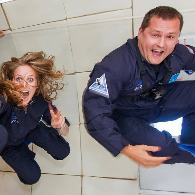 Борис Филатов готовится к полету в космос.