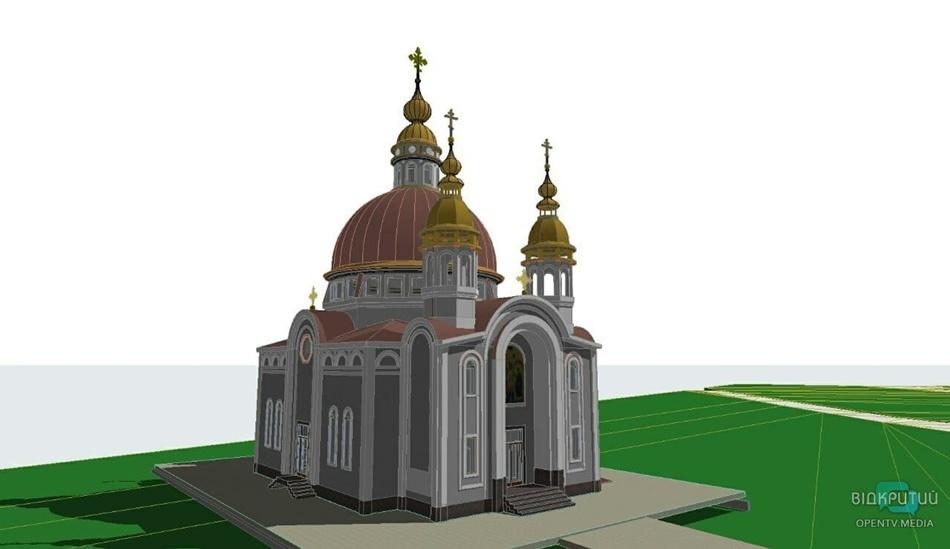 Уже есть фасад: как сейчас выглядит новый храм на Набережной Победы (ФОТО)