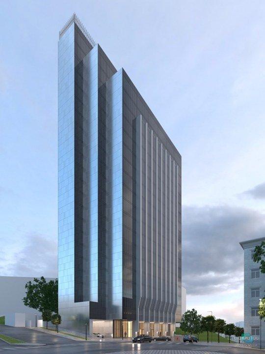 Як виглядатиме новий величезний бізнес-центр Арена-Тауер у Дніпрі?
