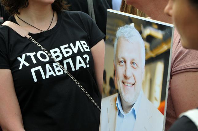Полиция задержала подозреваемых в убийстве журналиста Павла Шеремета