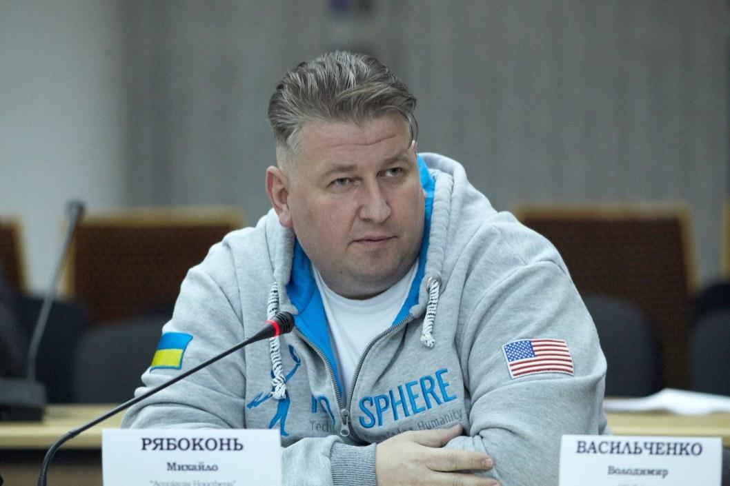 """Председатель правления """"Ассоциации Ноосфера"""" Михаил Рябоконь"""