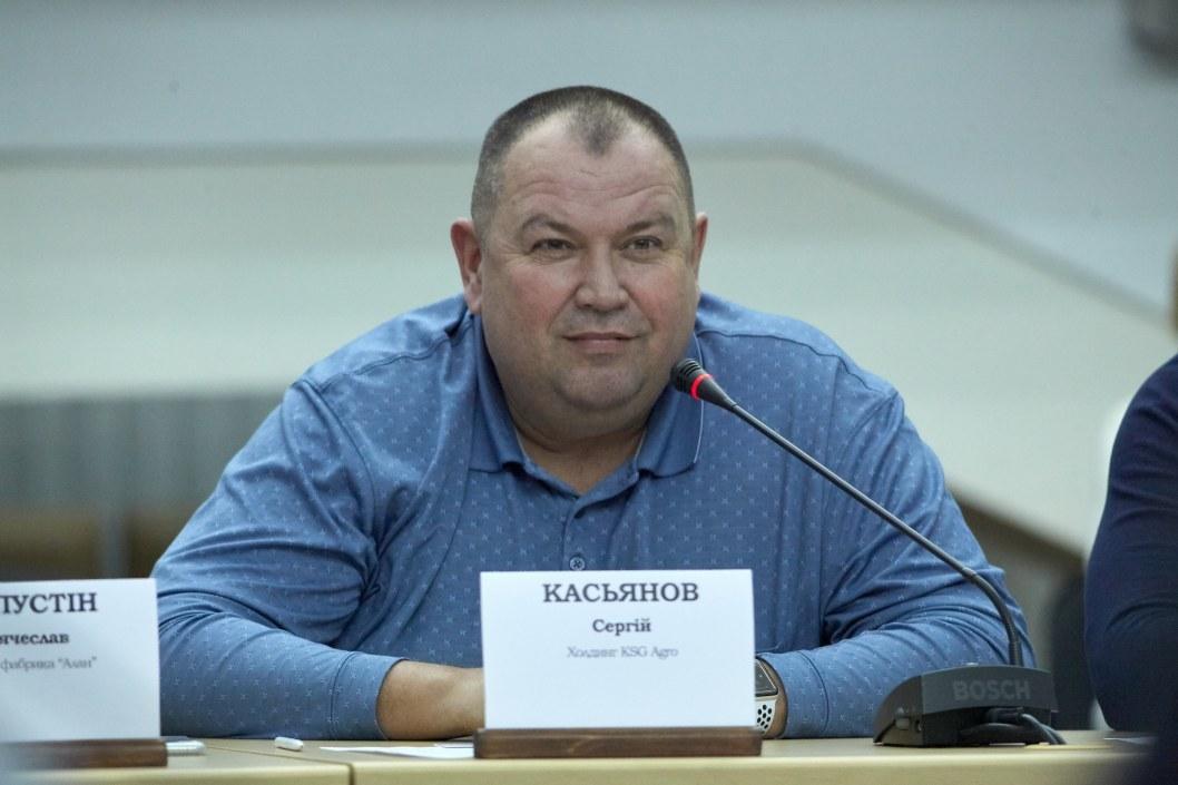 Глава агропредприятия KSG Agro – Сергей Касьянов