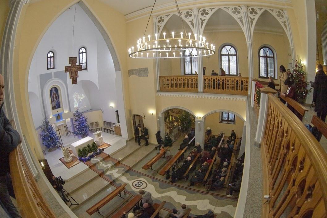 Прихожане храма святого Йосипа в Днепре