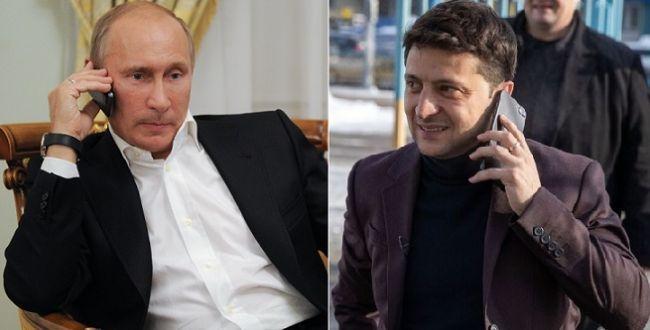 Зеленский поздравил Путина с Новым годом: условились освобождать пленных крымчан