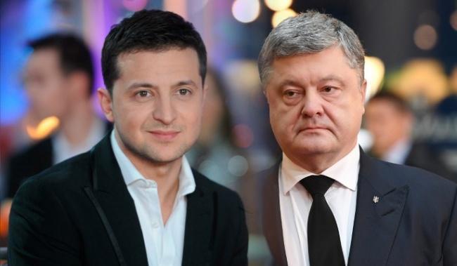 Владимир Зеленский и Пётр Порошенко поздравят украинцев с Новым годом